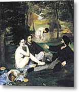 Luncheon On The Grass Metal Print