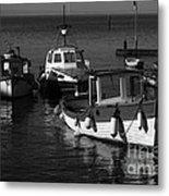 Lynmouth Harbour In Devon Metal Print