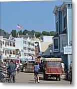 Mackinac Island Metal Print