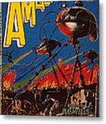 Magazine Cover 1926 Metal Print