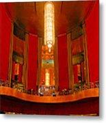 Main Lobby Radio City Music Hall Metal Print