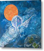 Making Love To The Universe - Infinitude Metal Print