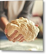 Making Yeast Dough Metal Print