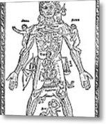 Man Of Signs, 1495 Metal Print
