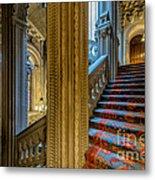 Mansion Stairway Metal Print