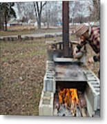 Maple Syrup Production Metal Print