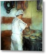 Marcellos Wife Metal Print