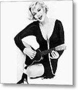 Marilyn Monroe (1926-1962) Metal Print by Granger