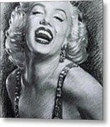 Marilyn Monroe Metal Print by Viola El