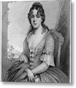 Martha Jefferson Randolph (1772-1836) Metal Print