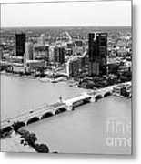 Maumee River Toledo Ohio Metal Print