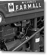 Mc Cormick Farmall Super C Metal Print