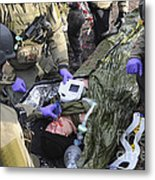 Medics Of The British Special Forces Metal Print