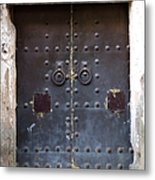 Medieval Door Metal Print