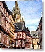 Medieval Vannes France Metal Print