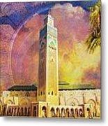 Medina Of Marakkesh Metal Print by Catf