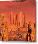 Members Of The Planets Advanced Metal Print