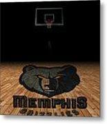 Memphis Grizzlies Metal Print