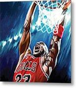 Michael Jordan Artwork Metal Print by Sheraz A