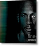 Michael Jordon Metal Print