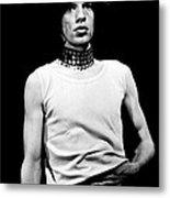 Mick Jagger 1968 Rolling Slomes Metal Print
