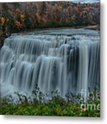 Middle Falls At Letchworth State Park Metal Print