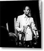 Miles Davis At The Penthouse Metal Print