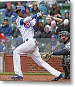 Milwaukee Brewers V Chicago Cubs Metal Print