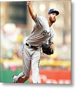 Milwaukee Brewers V Pittsburgh Pirates Metal Print