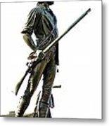 Minute Man Statue Concord Ma Metal Print