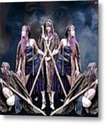 Mirror Image Metal Print