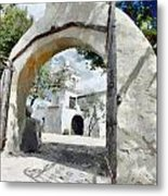 Mission Metal Print by Lester Phipps