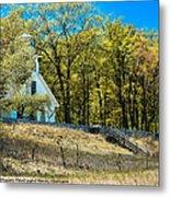 Mission Point Light House Michigan Metal Print
