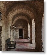 Missions Of  San Antonio Metal Print by Cindy Rubin
