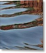 Mississippi Reflections Metal Print