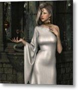 Mistress Of Poisons Metal Print