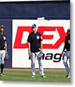 MLB: FEB 20 Spring Training - Yankees Workout Metal Print