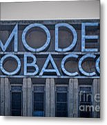 Model Tobacco Building Metal Print