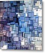 Modern Abstract Vi Metal Print