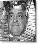 Mohamed Al Fayed Metal Print