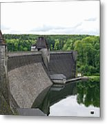 Mohne Dam Wide View Metal Print