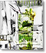 Mojito Metal Print by Russell Pierce