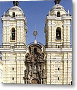 Monastery Of San Francisco - Lima Peru Metal Print