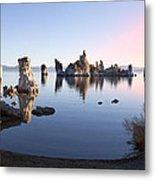 Mono Lake In First Light Metal Print