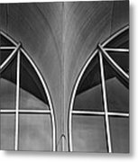Monona Terrace Windows Metal Print