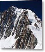 Mont Blanc Massif Metal Print