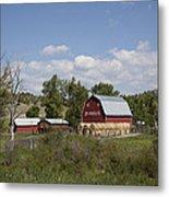 Montana Farm Metal Print
