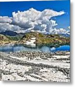 Monticello Lake - Tonale Pass Metal Print