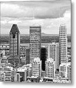 Montreal View Metal Print