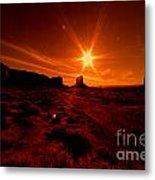 Monument Valley -utah  Metal Print